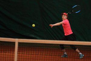 Eva' s forehand winner